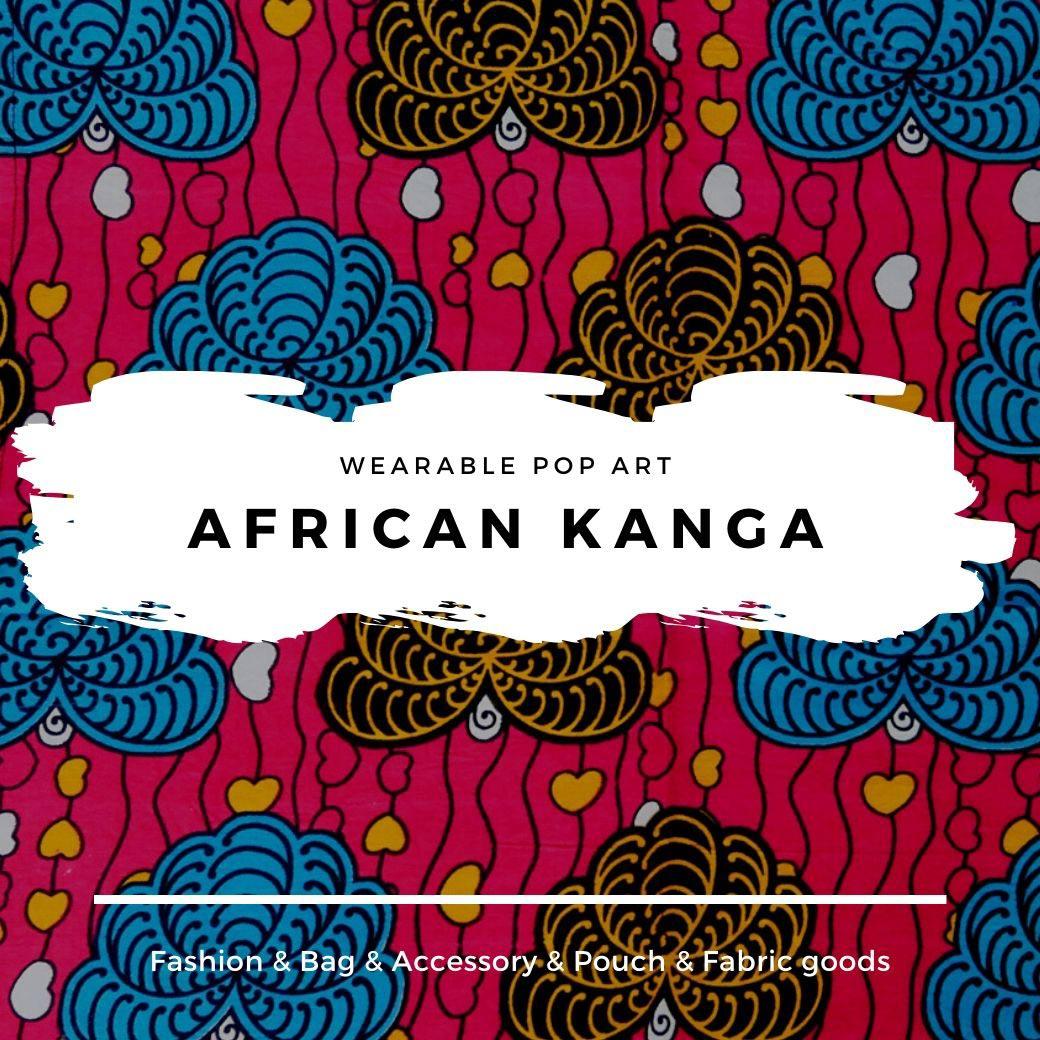 アフリカンカンガシリーズ ポップアート