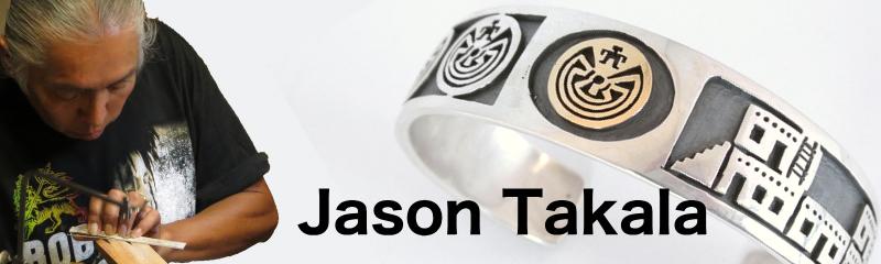 Jason Takala ジェイソンタカラ インディアンジュエリー バングル リング ペンダント メイズ